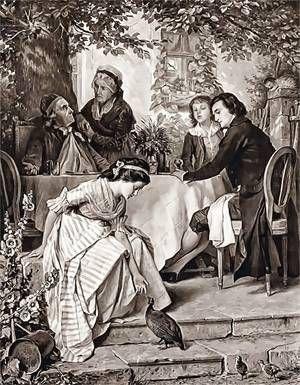 Johann Heinrich Voss: Luise. Illustriert von Arthur Freiherr von Ramberg und Paul Thumann
