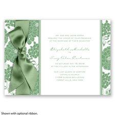 Clover green wedding inventions.  Inventionsbydavidsbridle.com