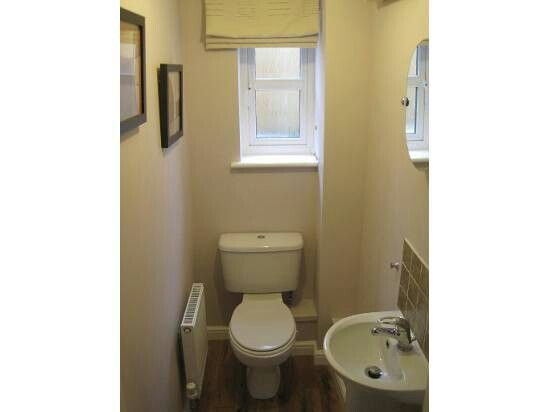 Small cloakroom
