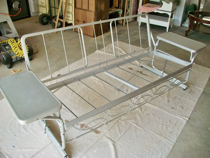 here is the project an old aluminium porch glider i have gone over it - Porch Gliders