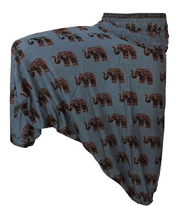 Indian Blue Harem Gypsy Hippie Ali Baba Baggy Pants Trousers Boho Yoga Casualo #Unbranded #CasualPants