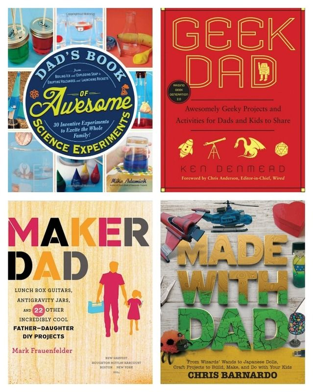 Last-minute gifts for Father's Day: books that give him time with the kids