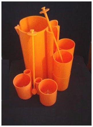 Service à orangeade design Jean-Pierre VITRAC
