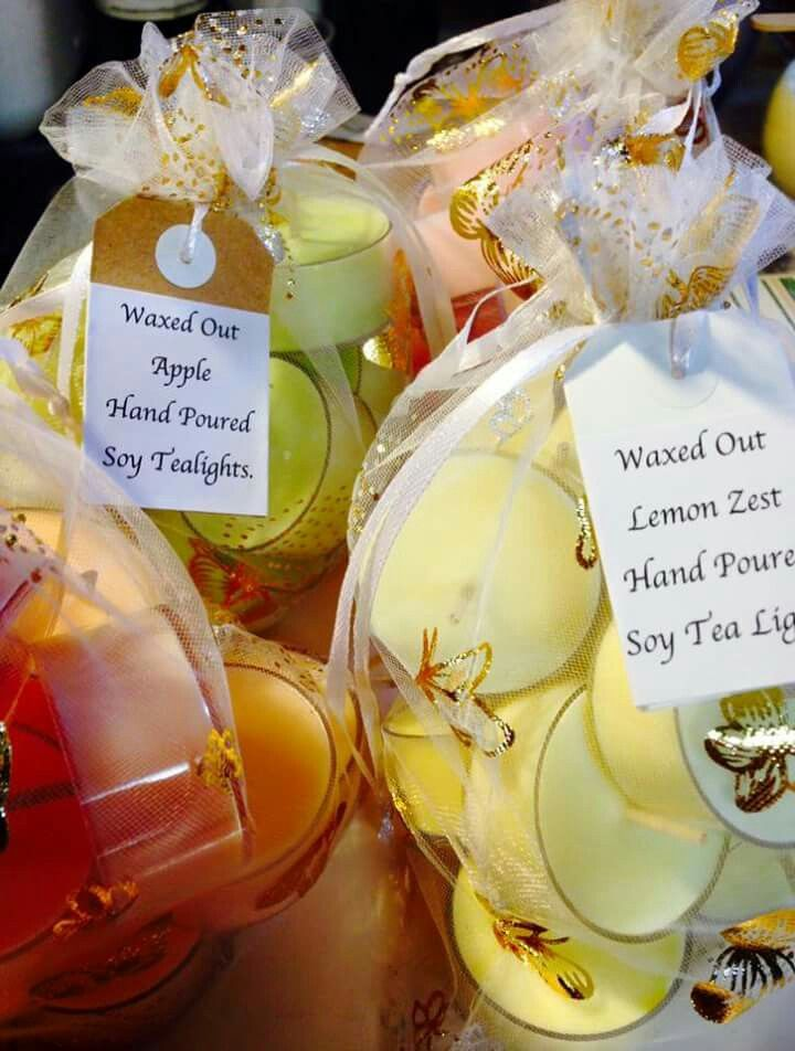 Little Bags Of Sweetness ... Tea Light Magic