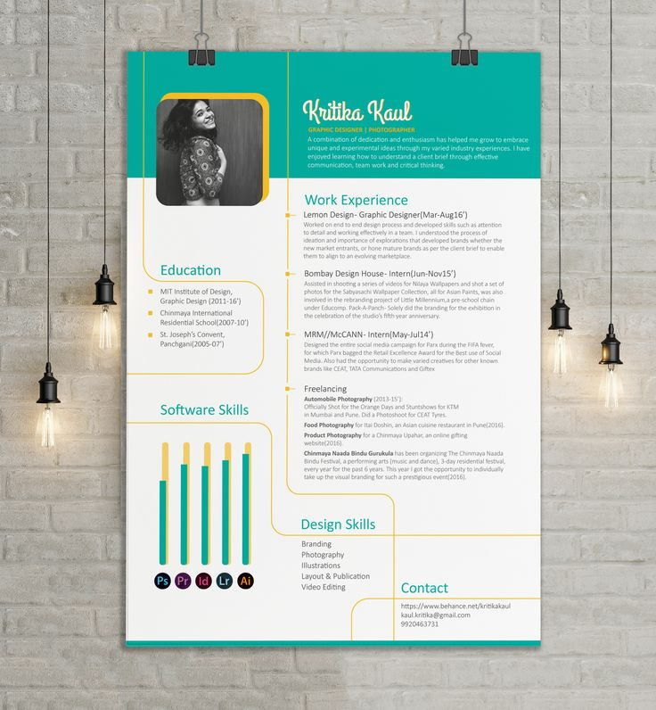 68 best Inspiration CV images on Pinterest Resume design - net resume