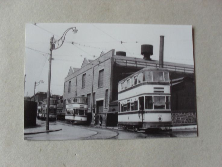 TRAM PICTURE - SHEFFIELD - SHEFFIELD TRAMS - POSSIBLY WEEDON STREET