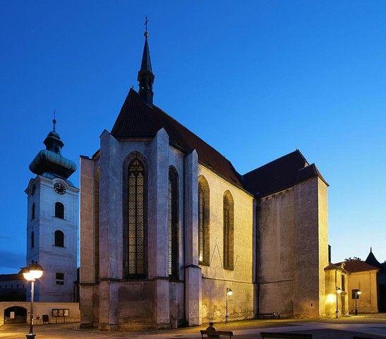 České Budějovice, Czechia #night #square #city #czechia