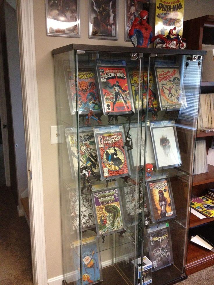 Storage Room Man Cave : Comic books collectible displays pinterest