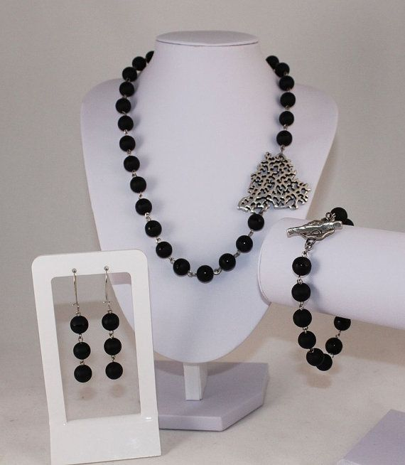 3 Pieces Set from Black Onyx by OxStreet on Etsy