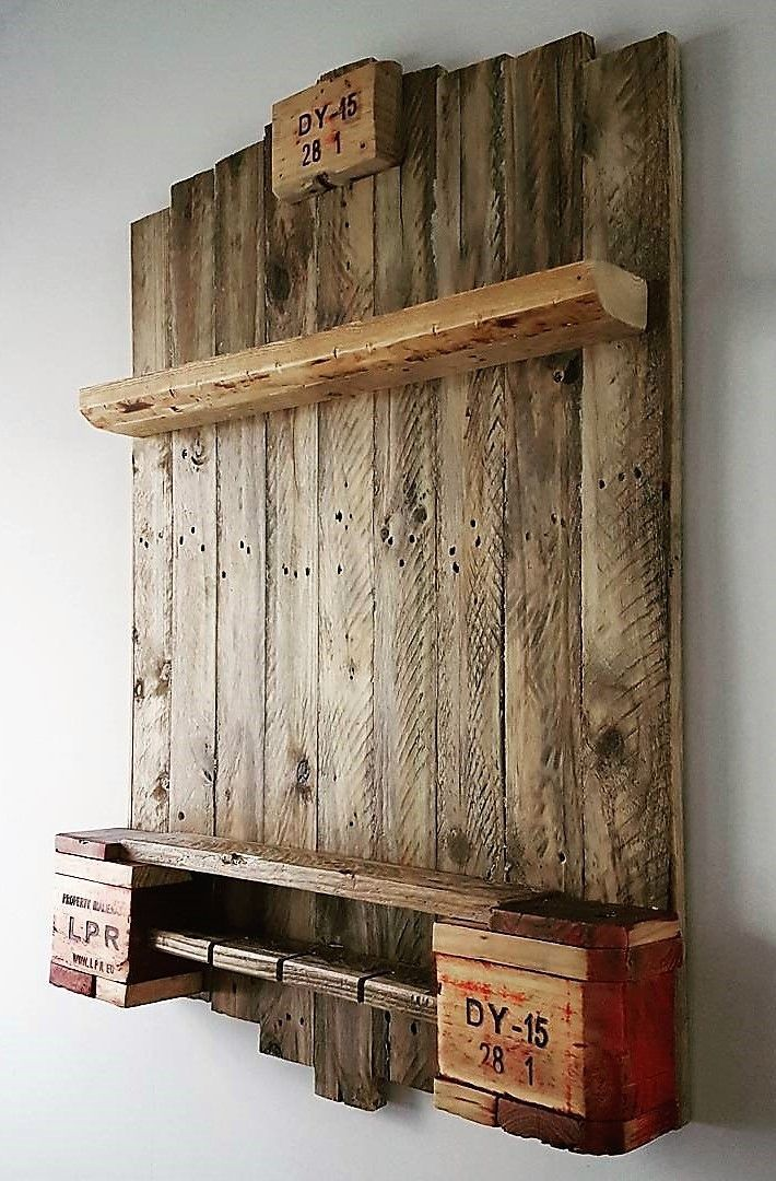 Chest Of Drawers From Wooden Pallets Wood Pallet Furniture Reclaimed Wood Furniture