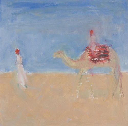 Ann SHRAGER - Camel being Led