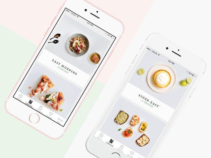 Recipe Application by Kristofor #Design Popular #Dribbble #shots