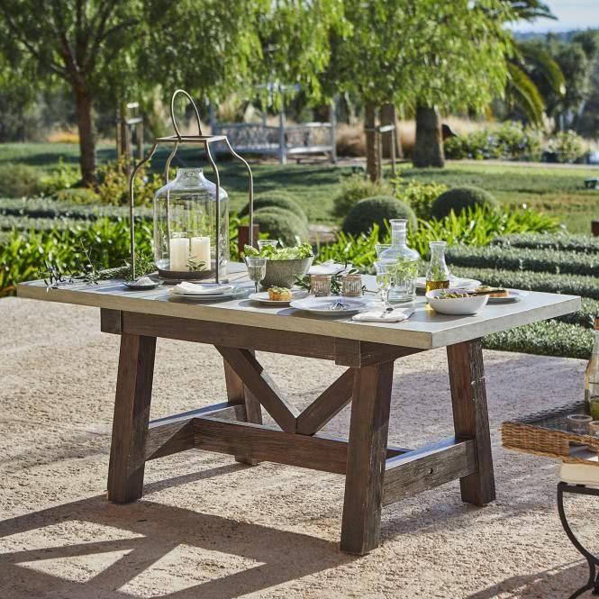 Tisch Stony Plain Gartentisch Garten Und Tisch