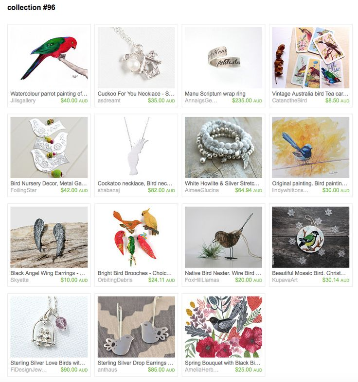 Collection #96 by Joanne Blackeby on Etsy