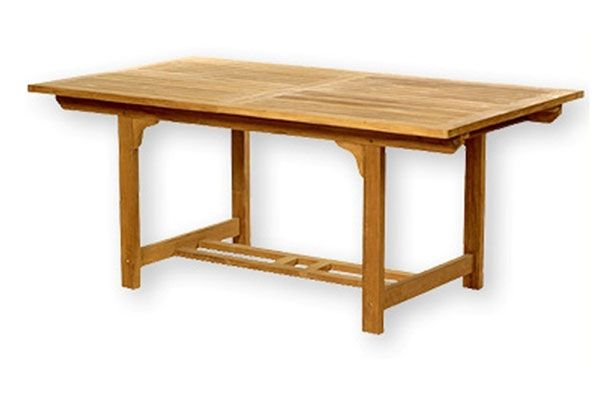 Rectangular Extendable Table