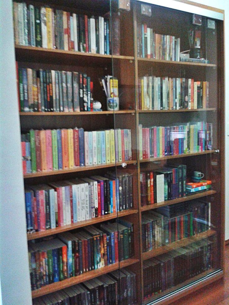 Minhas estantes novas (que já nem são tão novas mais)   TOC Livros