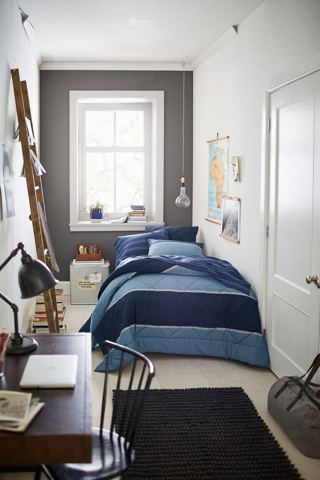 Dorm room ideas for guys bedrooms spaces 20 | Amazing ... on Small Room Ideas For Guys  id=40674
