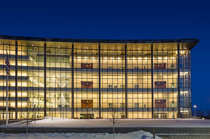 Us Federal Courthouse Cedar Rapids Ia Opn Architects