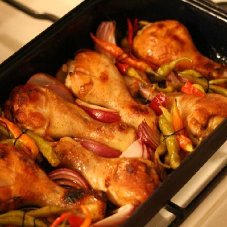 Pałeczki z kurczaka z ostra papryką