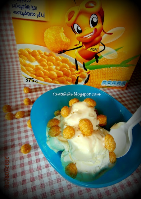 Cornflakes ice cream!!!