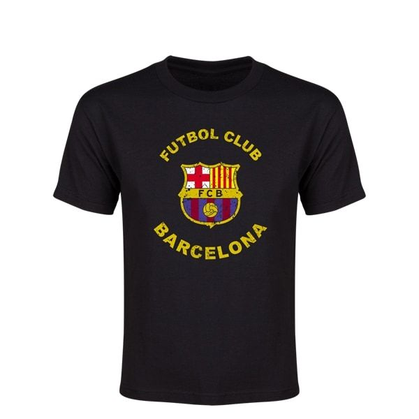 Barcelona Futbol Club Distressed Youth T-Shirt