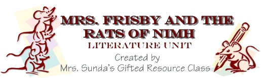 41 best reading images on pinterest teaching ideas teaching fourthfifth grade literature unit on mrs frisby and the rats of nimh fandeluxe Image collections