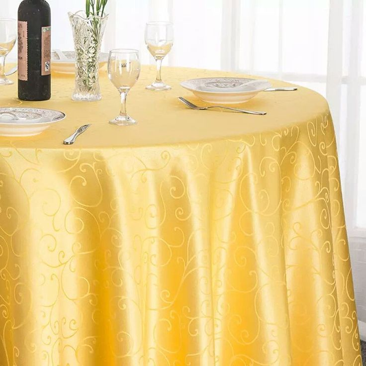 Cheap table cover, Buy Quality damask tablecloth directly from China tablecloth damask Suppliers: Wedding Outlet Classic Swirl Jacquard Damask Tablecloth Marriage Party Colorful Table Covers Decoration of Venue Outdoor Hotel