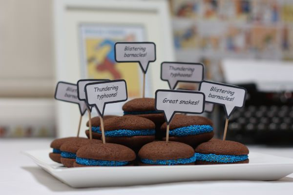 Captain Haddock Whoopie Pies | Tintin Party