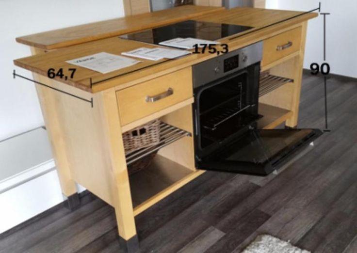 Fancy Gro e Modul K che von IKEA mit A Elektroger ten Schrank mit Backofen Framtid OV