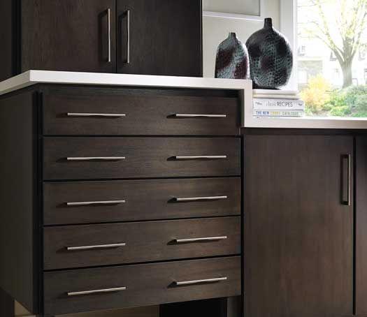 Fieldstone Cabinetry Tempe Door Style In Lyptus Finished In Slate With  Ebony Glaze. Kitchen CabinetsGlaze