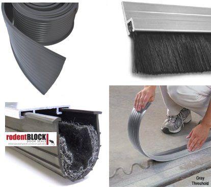 Garage Door Bottom Seals and Thresholds