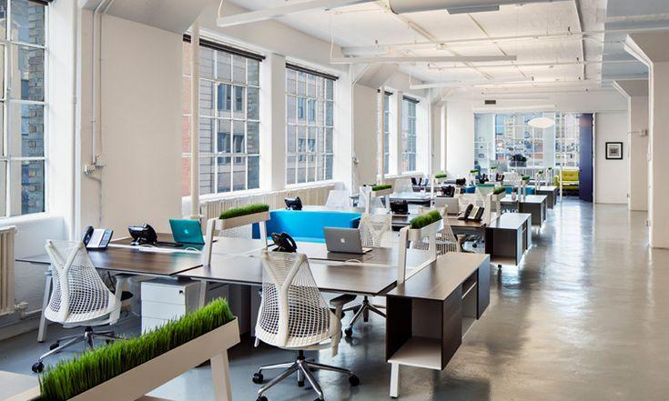 Beberapa inspirasi trend desain ruang kantor di tahun depan. #ruangkantor