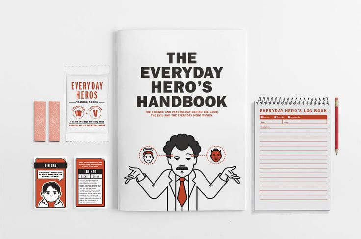 The Everyday Hero Toolkit - Michael Papageorgiou Portfolio - The Loop