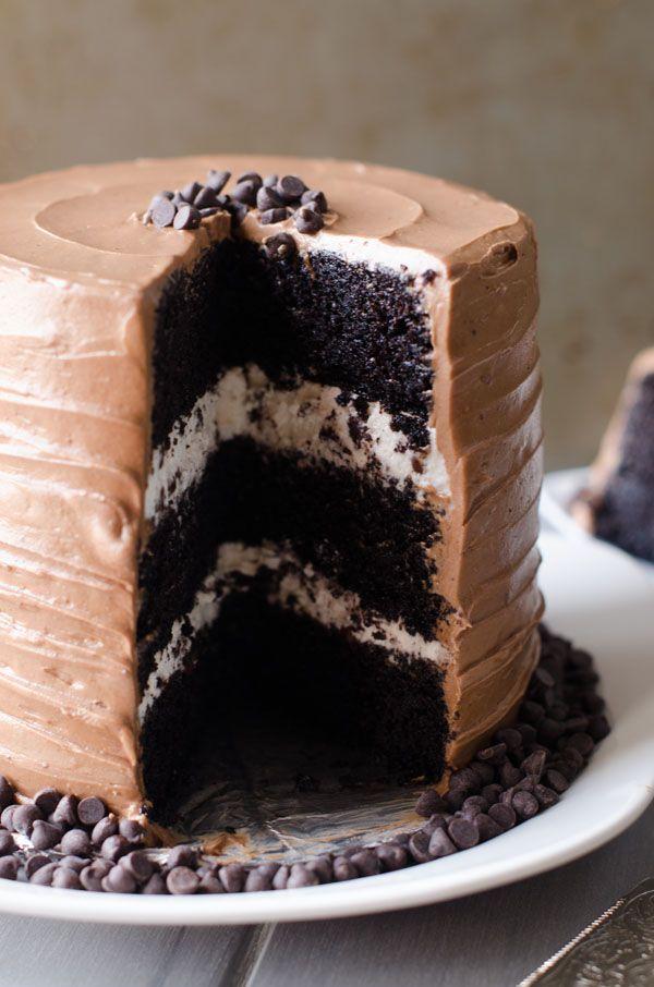 Chocolate Chip Birthday Cake - The Cake Merchant