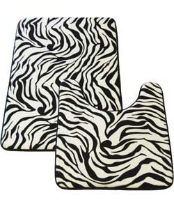 Buy Memory Foam Zebra 2 Piece Bath Set - Multicoloured at Argos.co.uk, visit Argos.co.uk to shop online for Bath mats