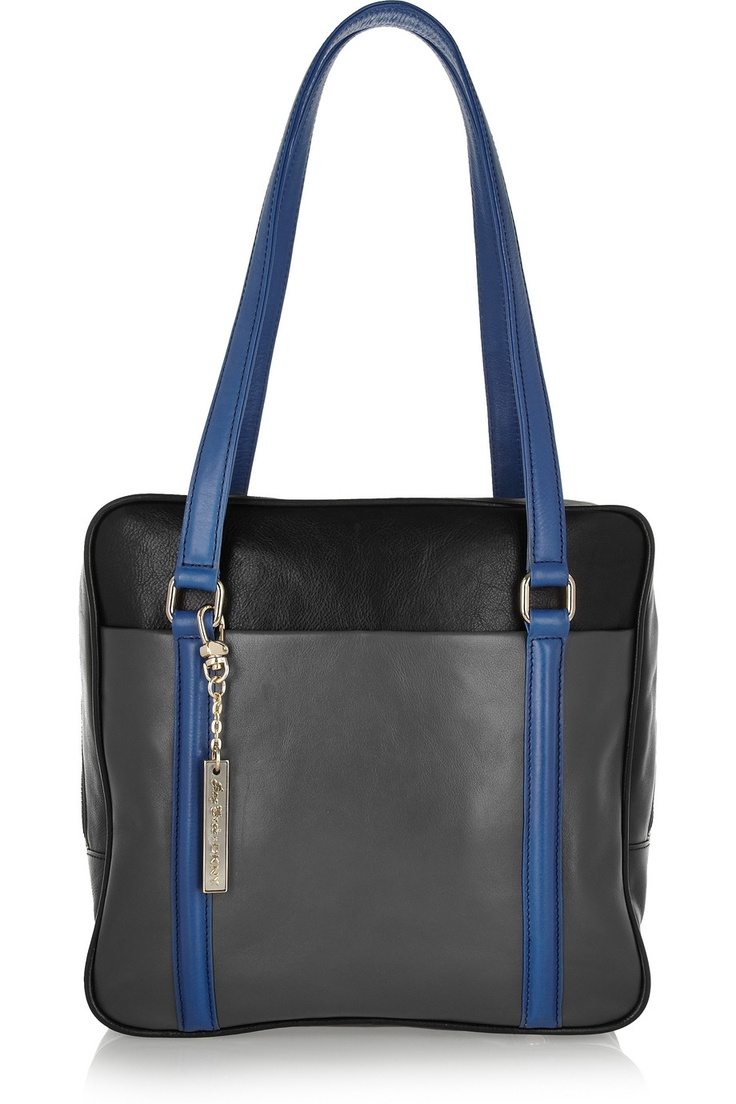 Bag Snob for DKNY - The Tote paneled leather bag