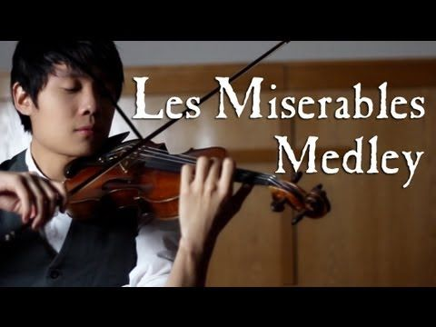 Beautiful rendition - by one man!- of some music from Les Miserables. Features I Dreamed A Dream/One Day More, Bring Him Home, On My Own, and Do You Hear the People Sing?