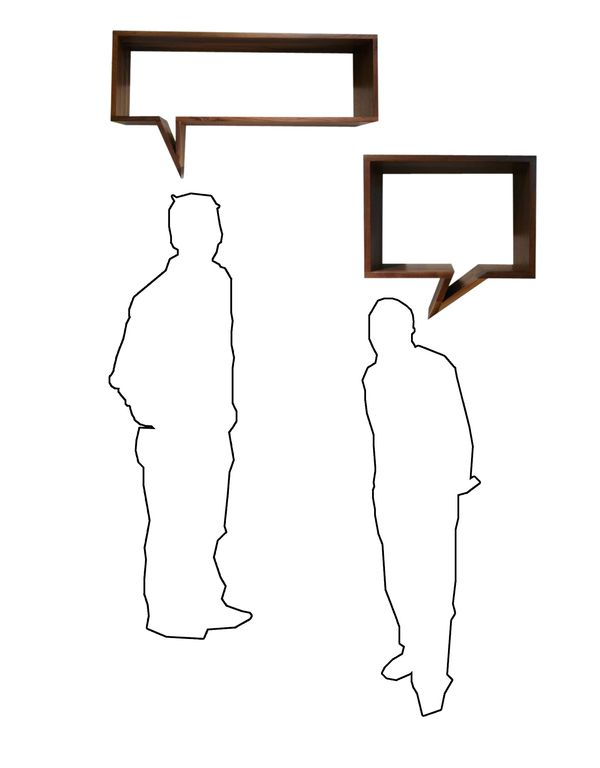 comic shelf by oscar nunez, via Behance
