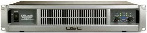 QSC PLX1802 Lightweight Power Amplifier by QSC. $849.00. The PLX1802 is an excellent choice for users who need to drive up to four loudspeakers from each amplifier channel (2 ohm loading), or when extremely high power bridge mono operation is required. The PLX1802 features built-in subwoofer processing, filter switches, and front panel indications of bridge mono status. Rated at 330 watts per side at 8 ohms, 575 watts at 4 ohms, and 900 watts at 2 ohms. In bridge mono mode, p...