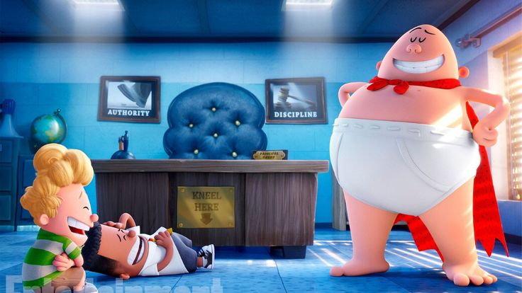 Play Captain Underpants: The First Epic Movie Full Movie Two mischievous kids hypnotize their mean elementary school principal and turn him into their comic book creation, the kind-hearted and....
