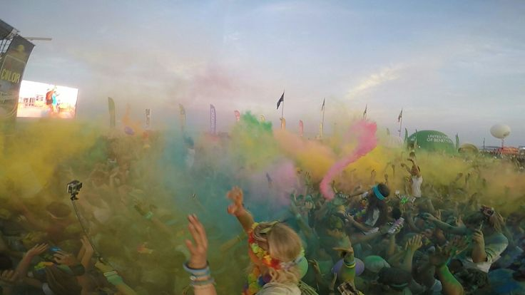 The Color Run💥💣🎆   @GoPro