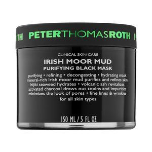 "Peter Thomas Roth - Irish Moor Mud Purifying Black Mask #sephora  ""This really works, I use it after the sulfur mask that I have pinned on this board as well. This mask offers a moisturizing cleansing effect after the drying effect of the sulfur mask""-SB"