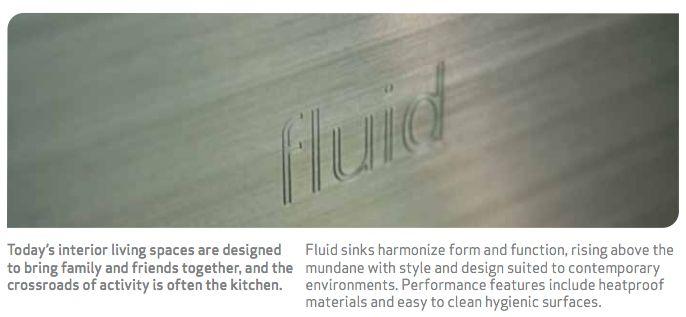 fluid kitchen sinks