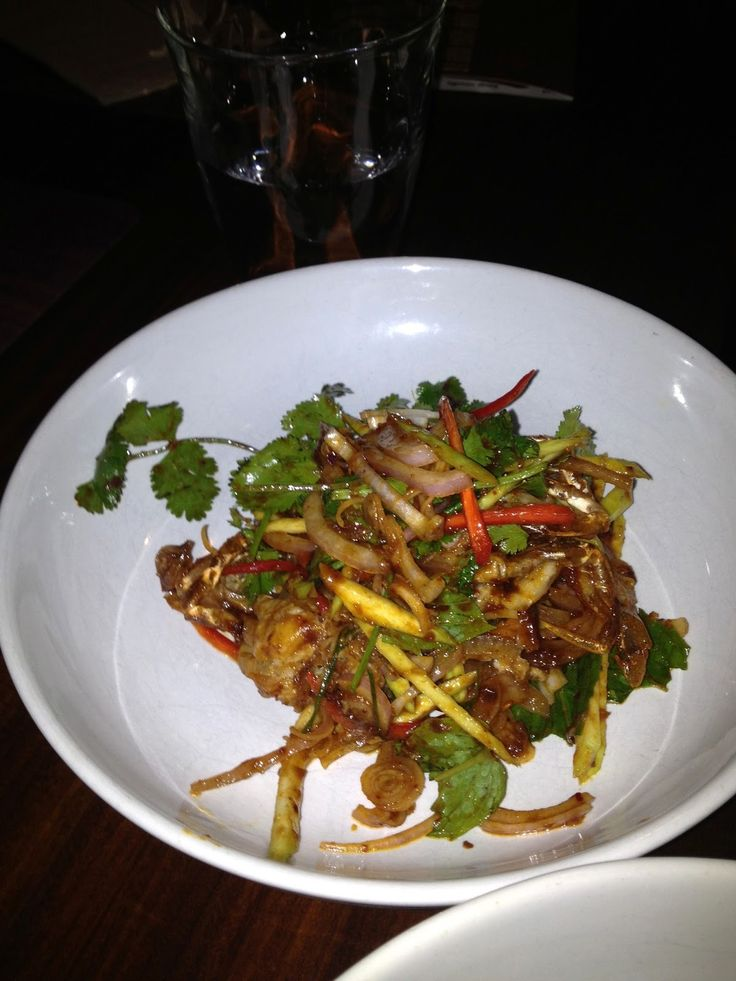 Thai Located in London's hip Soho district Busaba Eathai is a must do for lovers of Thai food . The place is unpretentious - has comfortabl...