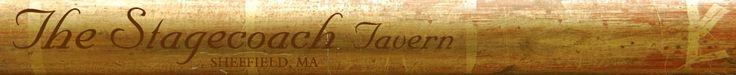 The Stagecoach Tavern,  the Berkshires Premier Locavore Restaurant