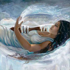 Poli'ahu, Hawaiian Goddess of Snow