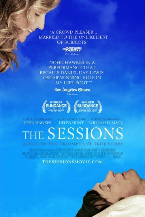The Sessions...Helen Hunt & William H. Macy not too shabby