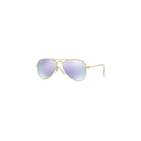Ray-Ban Mirrored Aviator Sunglasses (250 BRL) ❤ liked on Polyvore featuring accessories, eyewear, sunglasses, gold, gold aviator sunglasses, mirrored aviator sunglasses, mirror glasses, mirror lens aviator sunglasses and ray ban glasses