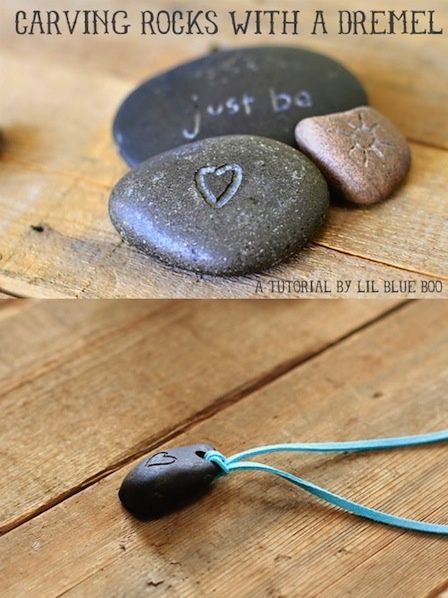 How-To: Carve Rocks with a Dremel  NOW I'll buy a dremel!