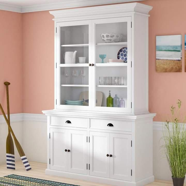 Beachcrest Home Copernicus China Cabinet In 2020 White China Cabinets Beautiful Dining Rooms China Cabinet